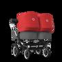 バガブー ドンキー 3 双子用シート&キャリーコットストローラー