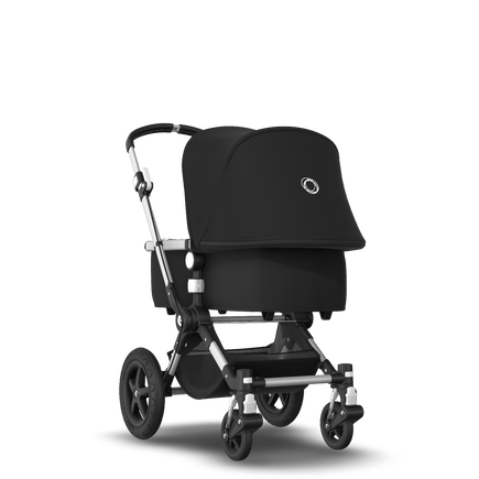 Bugaboo Cameleon 3 Plus Ready to go bundle black sun canopy, black fabrics, aluminium base