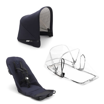 Bugaboo Donkey3 Classic duo fabric set complete DARK NAVY