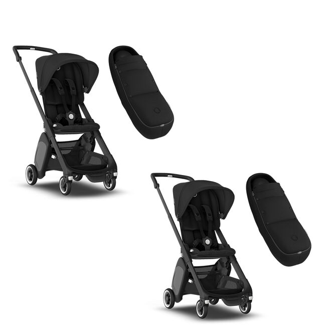 Two Bugaboo Ant strollers and Two Cocoons