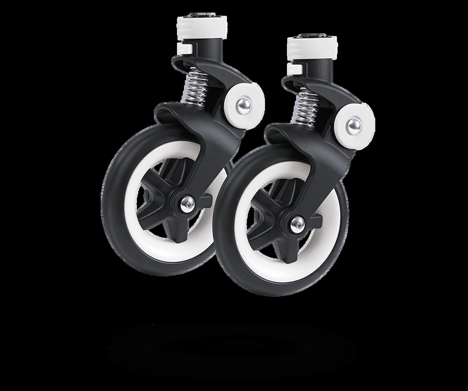 Bugaboo Bee 3 swivel wheels replacement set Black