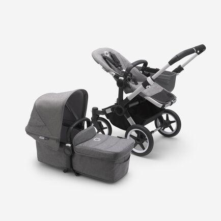 Bugaboo Donkey 3 Mono Kinderwagen mit Liegewanne und Sitz