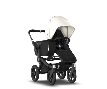 US - Bugaboo D3M stroller bundle black black fresh white