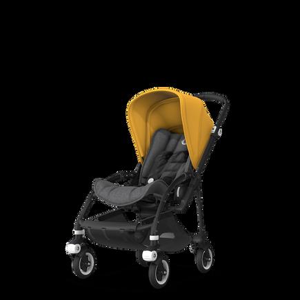 US - B5 grey melange, sunrise yellow, black