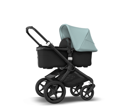 US - Bugaboo Fox2 stroller bundle black black vapor blue
