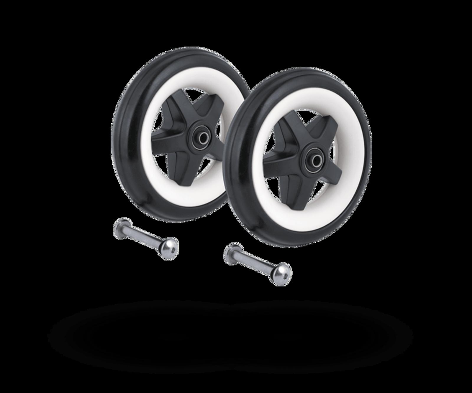 Bugaboo Bee (2010 model) rear wheels replacement set Black