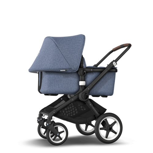 EU - Bugaboo Fox stroller bundle Black blue melange