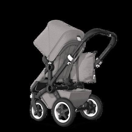 US - D2M stroller bundle black, mineral light grey