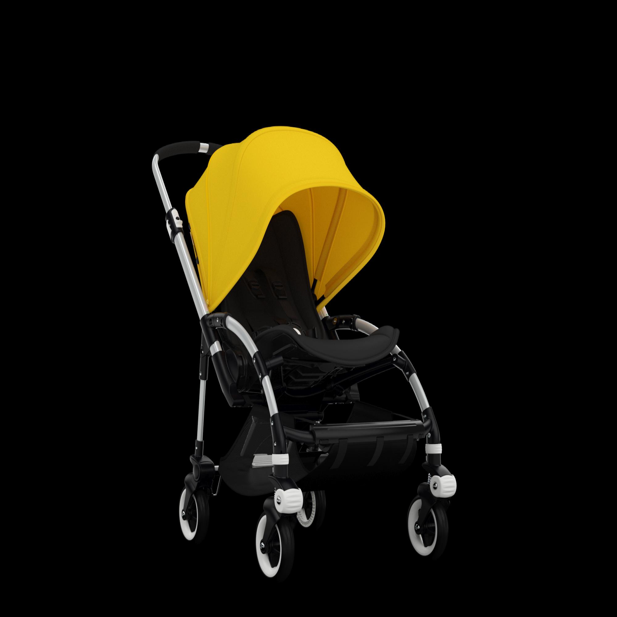 Capota extensible Bee 3 amarillo claro Bugaboo