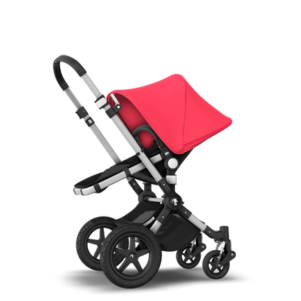 EU - Cameleon 3 plus Aluminium black neon red stroller bundle