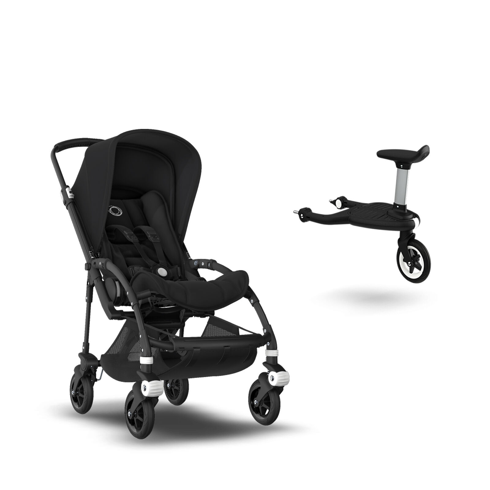 12++ Bugaboo bee 5 stroller assembly info
