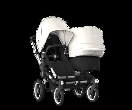 US - Bugaboo D3D stroller bundle aluminum black fresh white