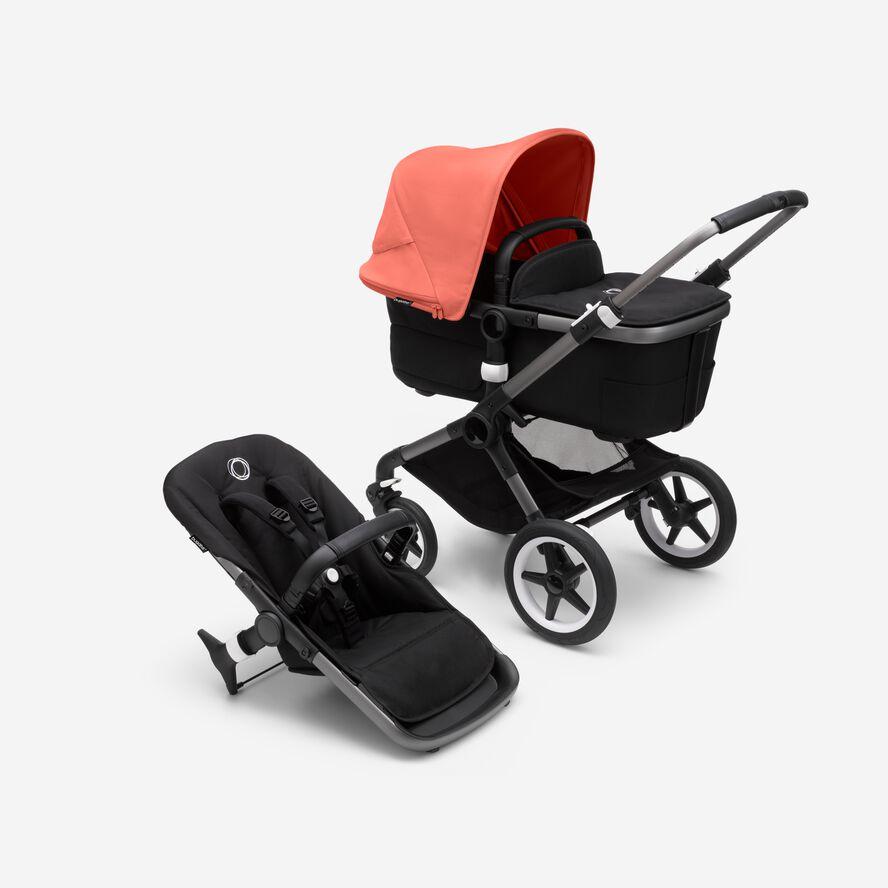 Bugaboo Fox 3 barnvagn med sittdel och liggdel