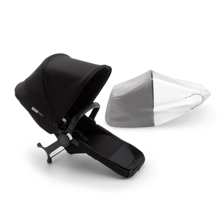 Bugaboo Donkey 3 duo extension complete | AU BLACK/BLACK-BLACK