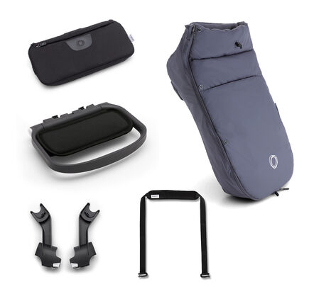 Steel blue Ant accessories pack