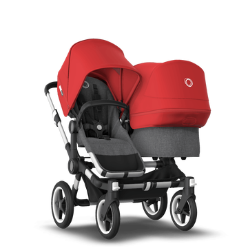Donkey3 duo complete ALU/GREY MELANGE-RED