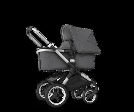 US - Bugaboo Fox2 stroller bundle aluminum grey melange grey melange