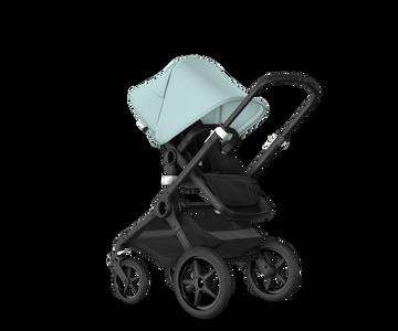US - Bugaboo Fox2 stroller bundle black black vapor blue