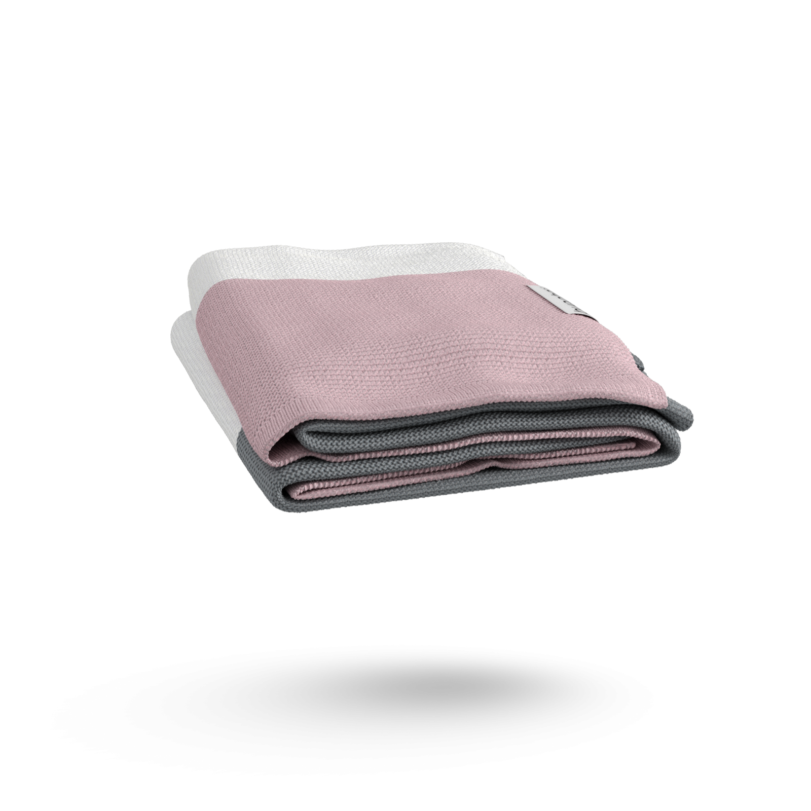 Bugaboo Light Cotton Blanket - SOFT PINK MULTI