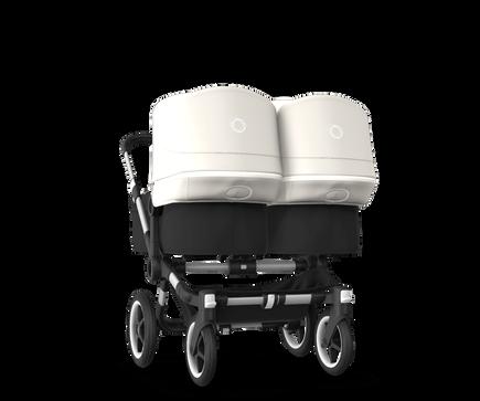US - Bugaboo D3T stroller bundle aluminum black fresh white