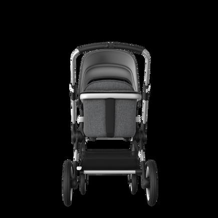 EU - Bugaboo Fox stroller bundle Aluminium grey melange