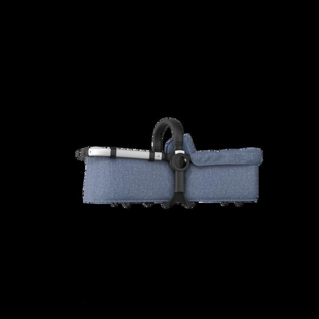 Bugaboo Donkey 2 bassinet fabric complete Blue Melange