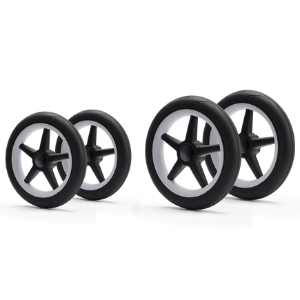 Bugaboo Donkey/Buffalo wheels replacement set (4 white)