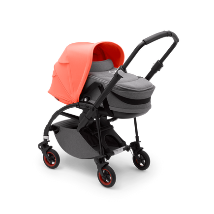 Bugaboo Bee 5 Coral bassinet and seat stroller