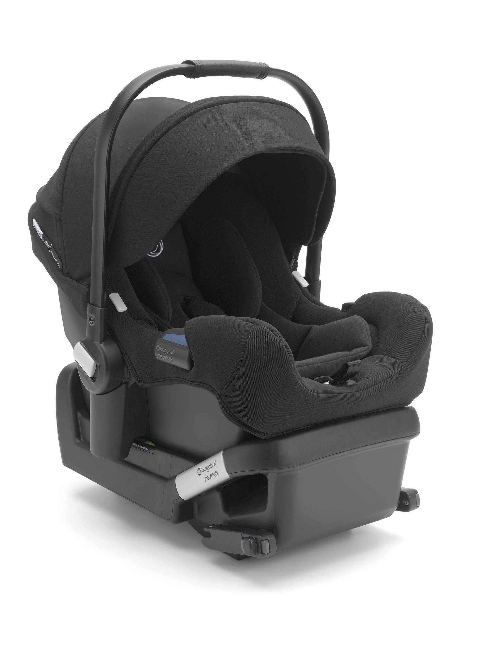 Bugaboo Turtle by Nuna car seat with base Black