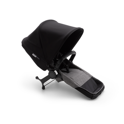 Bugaboo Donkey 3 duo extension complete | CA BLACK/GREY MELANGE-GR