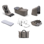 Bugaboo Donkey2 Mineral style set complete UK TAUPE
