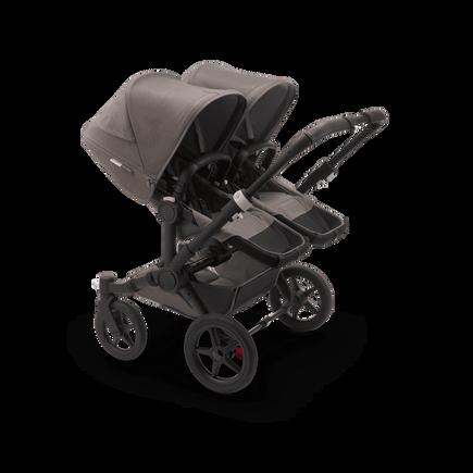 US - Bugaboo D3T stroller bundle mineral BLACK/TAUPE