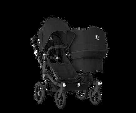 US - Bugaboo D3D stroller bundle black black black