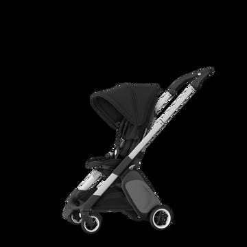 Bugaboo Ant seat stroller black sun canopy, black fabrics, aluminium base