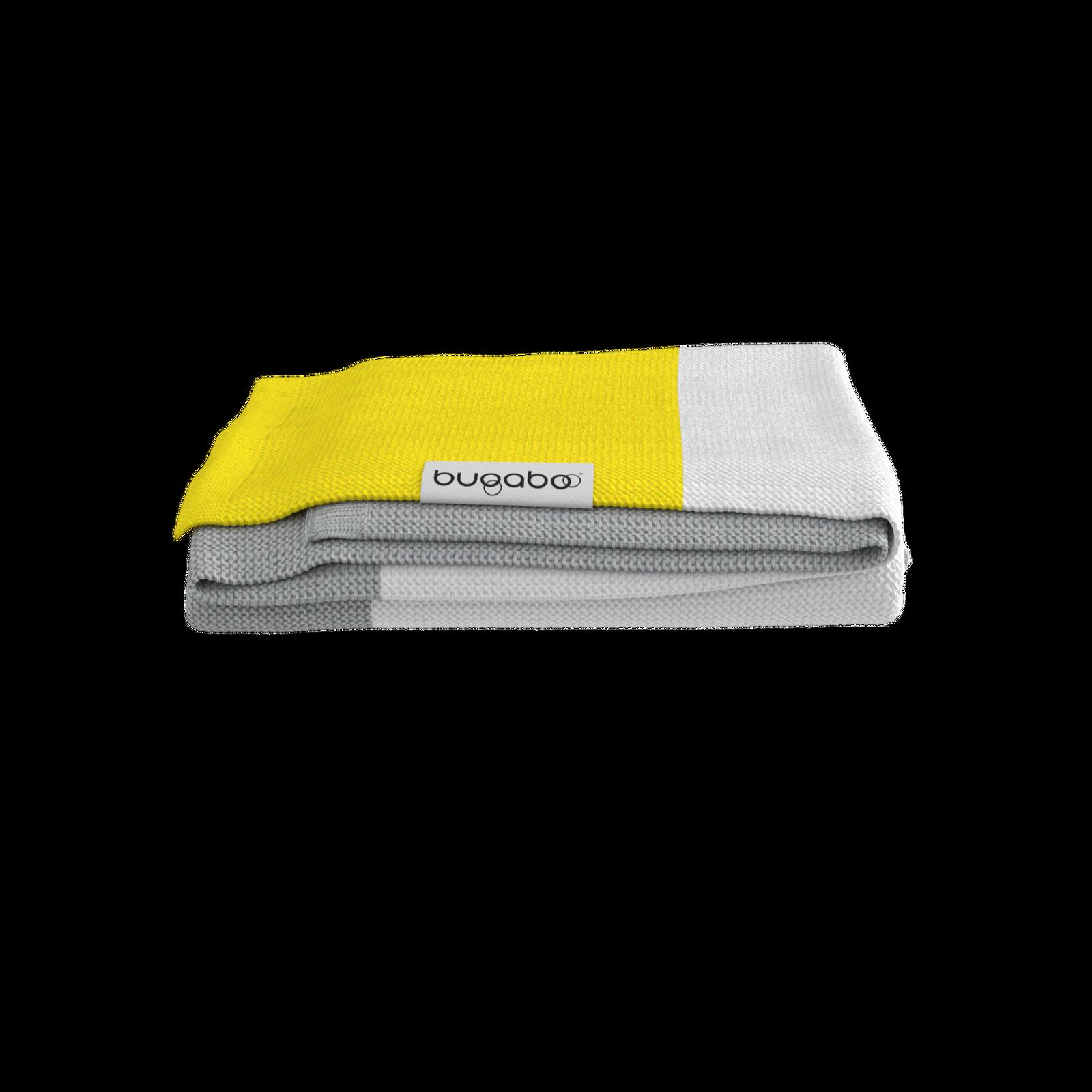 Bugaboo light cotton blanket Bright Yellow Multi