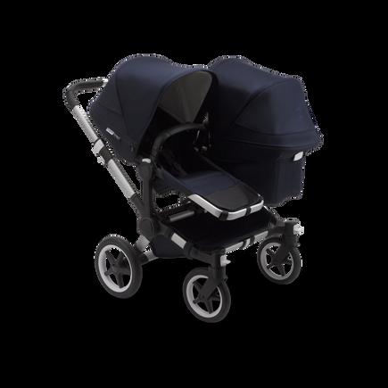 US - Bugaboo D3D stroller bundle aluminum classic dark navy complete