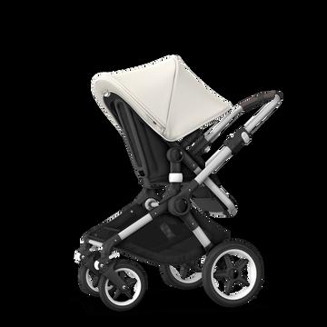 ASIA - Bugaboo Fox stroller bundle alu black fresh white