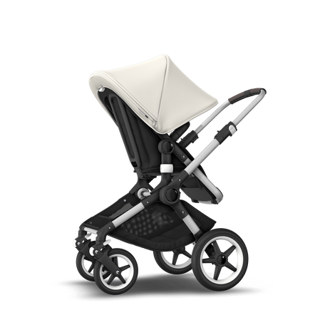 ASIA - Bugaboo Fox stroller bundle alu black fresh white