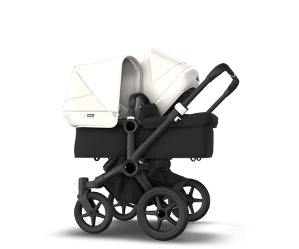 US - Bugaboo D3D stroller bundle black black fresh white