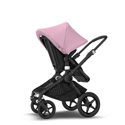 EU - Bugaboo Fox stroller bundle black soft pink