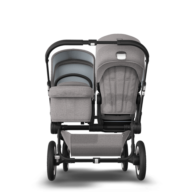 US - D2D stroller bundle black, mineral light grey