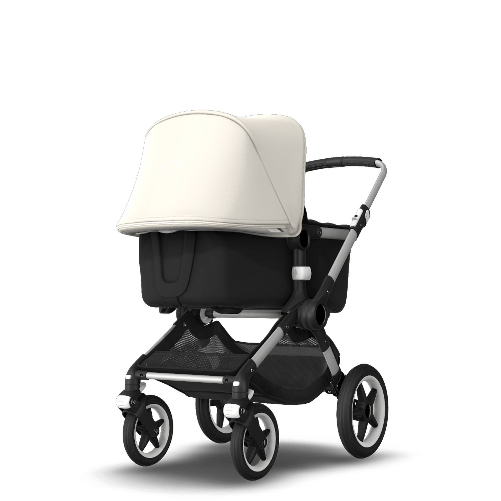 EU - Bugaboo Fox stroller bundle alu black fresh white