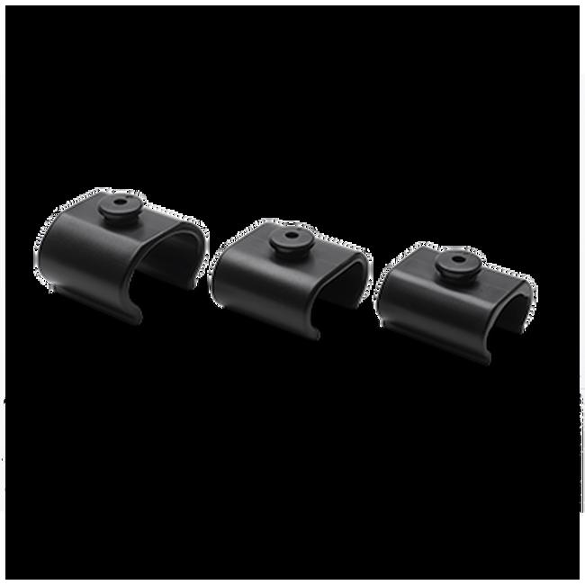 Bugaboo cup holder adapter set (2017 model) Black