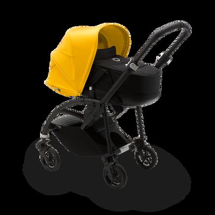 US - Bee 6 bassinet black, black, lemon yellow & Turtle One