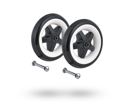 bugaboo bee3 rear wheels replacement set