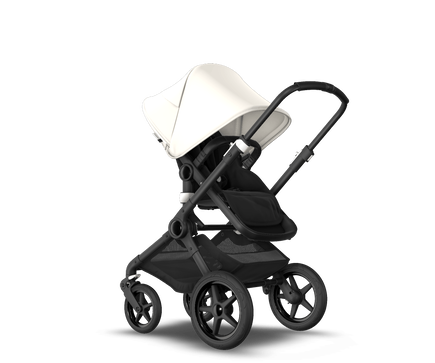 US - Bugaboo Fox2 stroller bundle black black fresh white