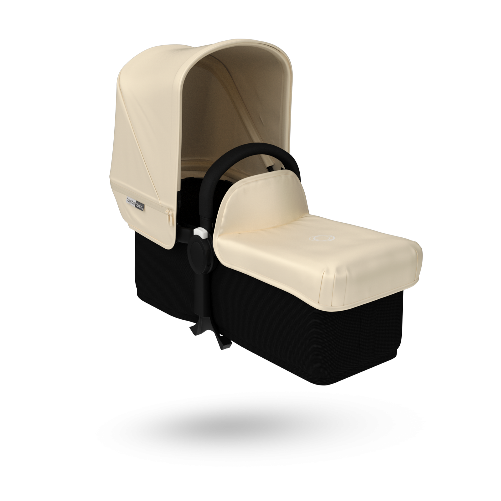 Bugaboo Donkey tailored fabric set (extendable sun canopy) Off White