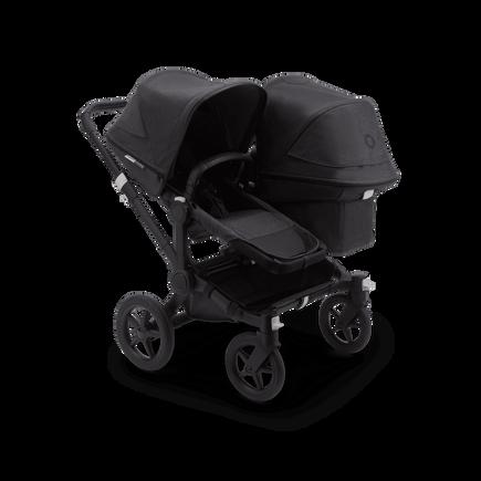 US - Bugaboo D3D stroller bundle mineral BLACK/WASHED BLACK