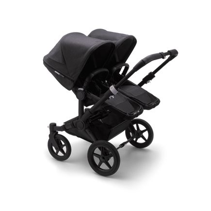 US - Bugaboo D3T stroller bundle mineral BLACK/WASHED BLACK