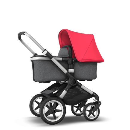 US - Fox stroller bundle neon red